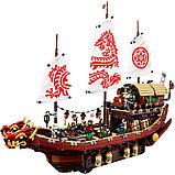 Конструктор BELA 10723 Ninjago Летающий корабль мастера Ву (Аналог LEGO Ninjago Movie 70618) 2363 дет, фото 3