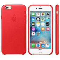 Apple iPhone 6 / 6s Leather Case - (PRODUCT)RED прочее (MKXX2ZM/A)