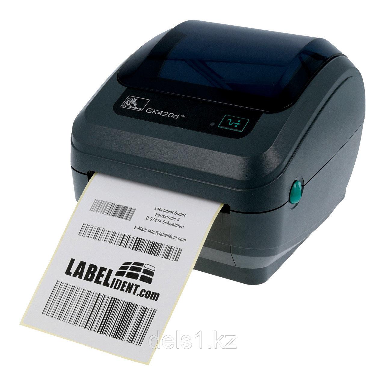Термо-принтер этикеток Zebra GK420d