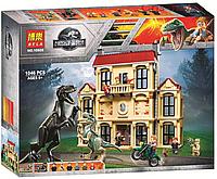 Конструктор  Bela 10928 Нападение Индораптора в поместье Локвуд аналог Lego 75930, фото 1
