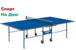 Теннисный стол Start Line Olympic с сеткой (Indoor) для помещений доставка, фото 2