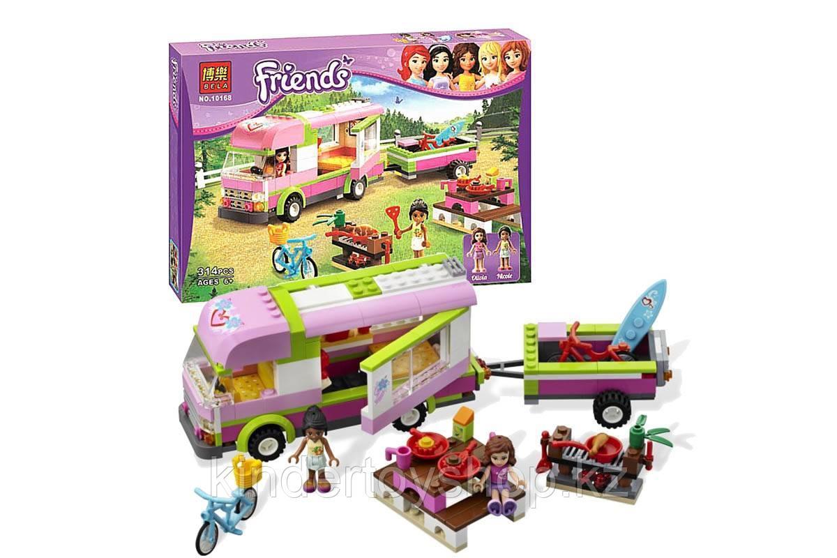 """Конструктор Bela 10168 """"Оливия и домик на колёсах"""" (аналог Lego Friends)"""