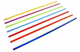 Палка гимнастическая d 2,5 см дл 70 см К237