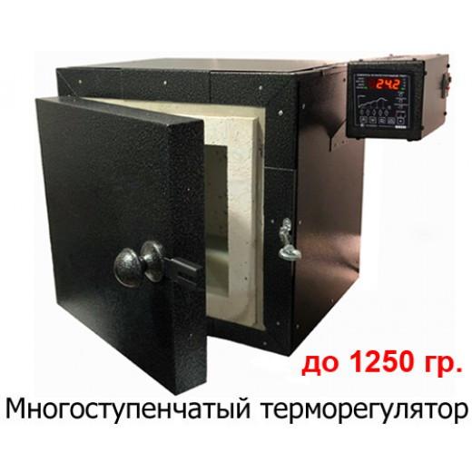 ПМВ-2700п Камерная электрическая печь для обжига различных материалов до 1250 градусов.