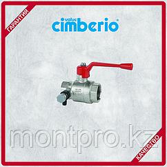 Клапан запорный со сливом Cimberio Cim 200 T14 (R 1/2'')