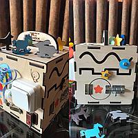 Бизикуб Бизибокс Smart box Ручная работа Развивающая игрушка