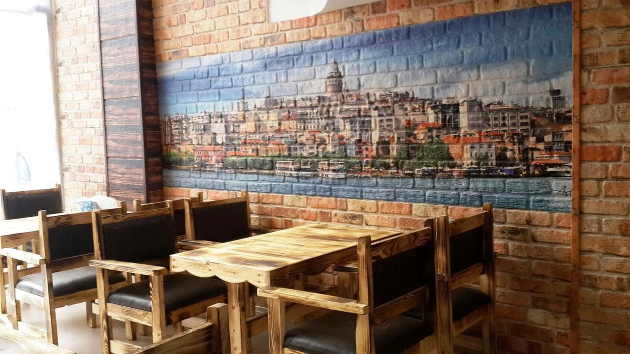 Декоративные стеновые панели для кафе