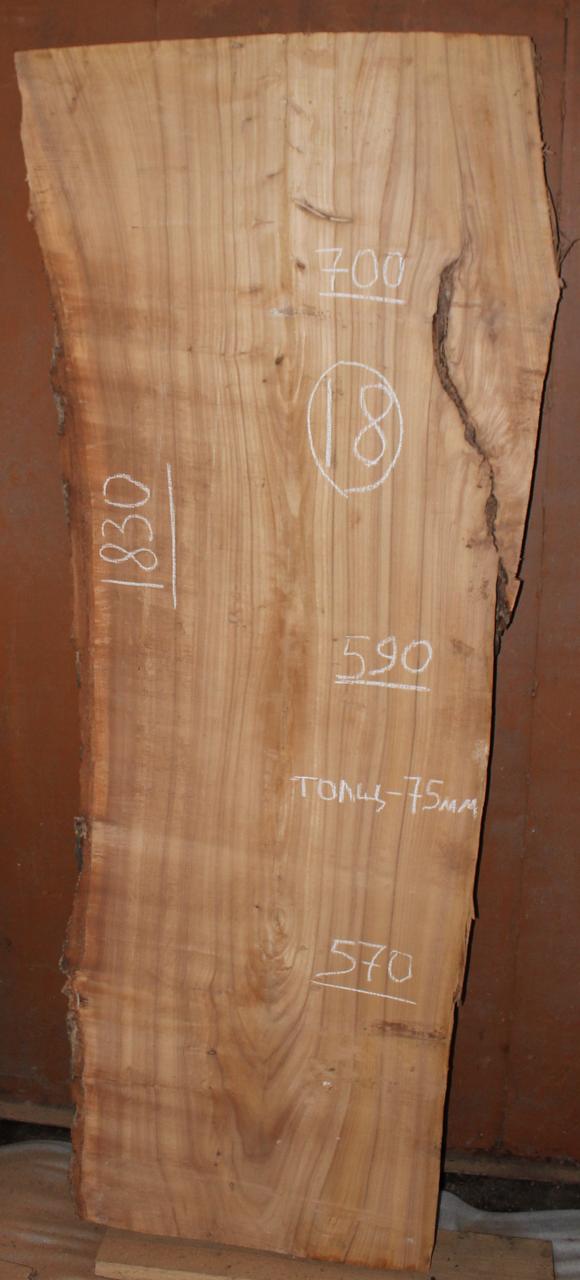 Слэб из карагача 18 (1830 х 600 х 75 мм)