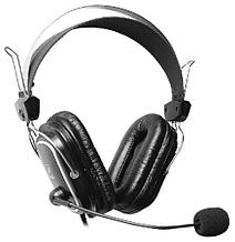 Наушники A4tech HS-50 20Hz-20kHz, 30 Om, 97dB, 2m