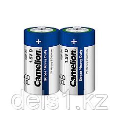 Батарейка, CAMELION, R20P-SP2B, Super Heavy Duty, D, 1.5V, mAh, 2 шт., Пленка