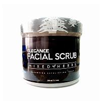 "Скраб для лица ""Смесь трав"" Питающий Elegance Facial Scrub Mixed Herbs Intensive Nutrition"