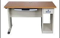 Стальной офисный компьютерный стол с подставкой и держателем процессора