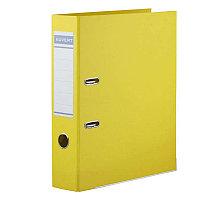 Папка-регистр Kuvert 50мм ПВХ желтая