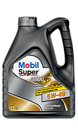 Моторное масло Mobil Super™ 3000 X1 Diesel 5W-40 4литра