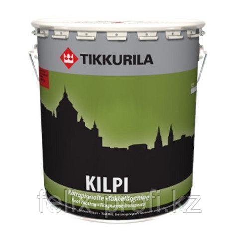 KILPI краска для черепичных крыш черная гл/мат 10 л.