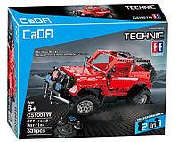 Конструктор на радиоуправлении CaDa Technic 2,4Ггц Джип 2-в-1 531 деталь (C51001W) аналог Lego Technic, фото 1