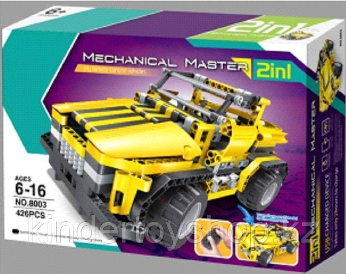 Конструктор QiHui 8003 mechanical master 2 in 1 (426 дет) аналог LEGO Technic лего техник на пульт управлнии