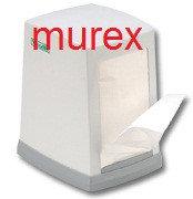 Салфетки диспенсерные MUREX (250 листов), настольные, белые, фото 1