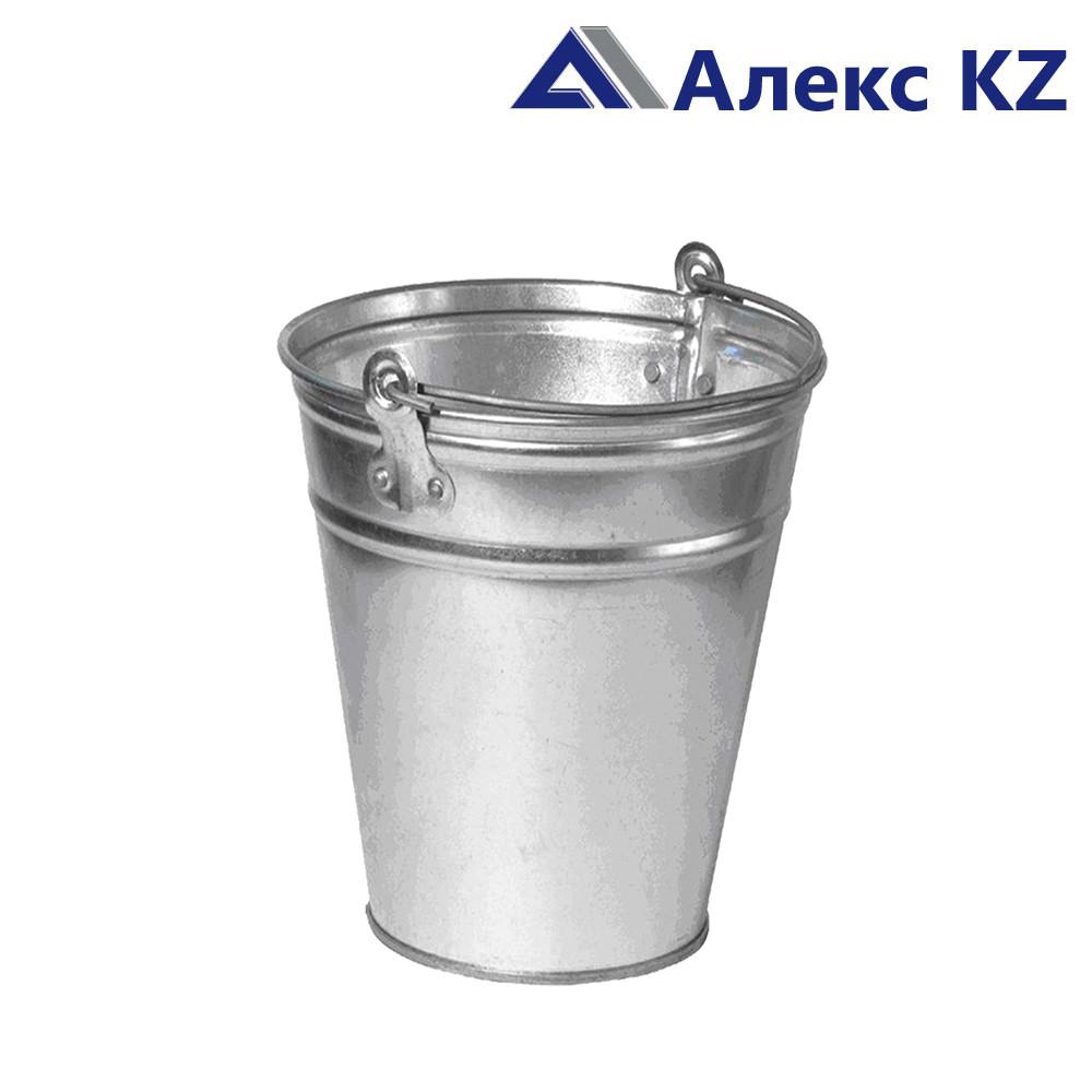 Ведро оцинкованное 9 литров (производства Россия)