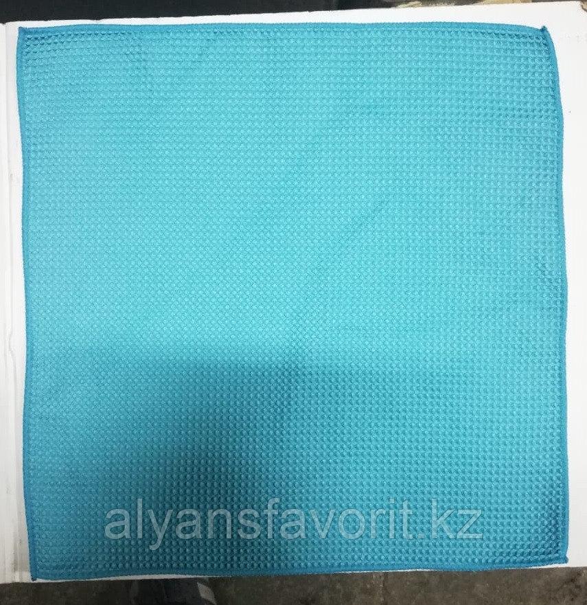 Салфетка для уборки зеркальных поверхностей, стекол, окон - 40*40 см (пористая структура)