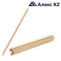 Деревянный черенок для лопаты d32/1200, 1 сорт (береза)