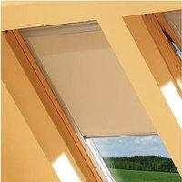 Шторы на мансардные окна Fakro 55х98 цвет бежевый, фото 1