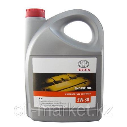 Моторное масло Тойота / TOYOTA Engine Oil Premium Fuel Economy SAE 5W-30 5L, фото 2