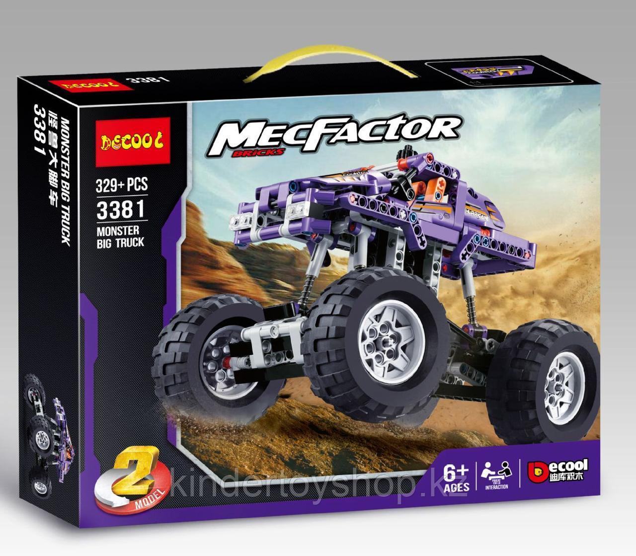Конструктор Decool 3381 Monster TrucksМонстр грузовиканалог Лего Техник (LEGO Technic).