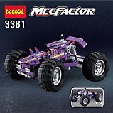 Конструктор Decool 3381 Monster Trucks Монстр грузовик аналог Лего Техник (LEGO Technic)., фото 5