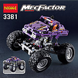 Конструктор Decool 3381 Monster Trucks Монстр грузовик аналог Лего Техник (LEGO Technic)., фото 6