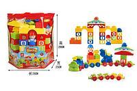 Конструктор для малышей 72 деталь в сумке