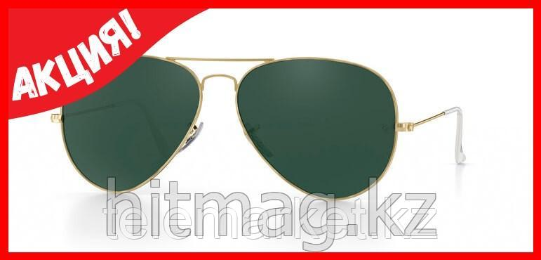 Очки RAY BAN AVIATOR GRAY GOLD CLASSIC, Оригинал!