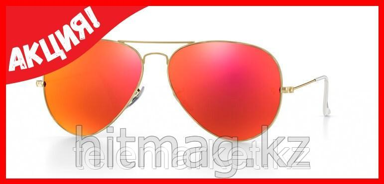 Очки RAY BAN AVIATOR RED GOLDMIRROR, Оригинал!