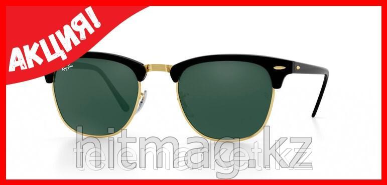 Очки RAY BAN CLUBMASTER GREEN BLACK, Оригинал!