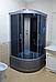 Душевая кабина Erlit ER3508P , 80х80 см, с серым поддоном, тонированным стеклом., фото 2