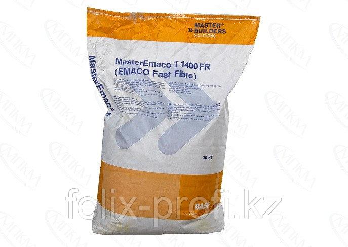 MasterEmaco T 1400 FR W - безусадочная быстротвердеющая сухая смесь наливного типа