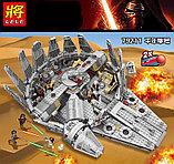Конструктор Lele 79211 - аналог Lego 75105 Star Wars Сокол Тысячелетия, фото 2