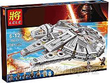 Конструктор Lele 79211 - аналог Lego 75105 Star Wars Сокол Тысячелетия