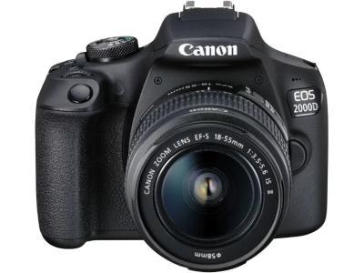 Canon EOS 2000D Kit EF-S 18-55 IS II Black
