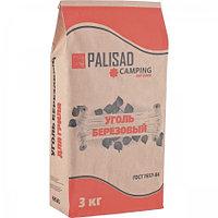 Уголь берёзовый 3 кг Camping Palisad