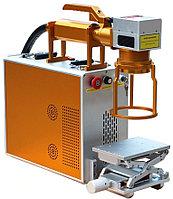 Ручной лазерный маркировщик, оптоволокно, 100*100мм , фото 1
