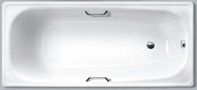 Ванна стальная эмалированная WHITE WAVE COMFORT L 1700*750 с ручками
