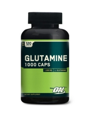 Глютамин Glutamine 1000 mg, 120 caps