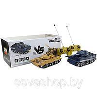 Радиоуправляемый танковый бой Тигр и Type