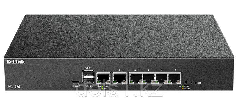 Гигабитный межсетевой экран D-Link DFL-870/A1A
