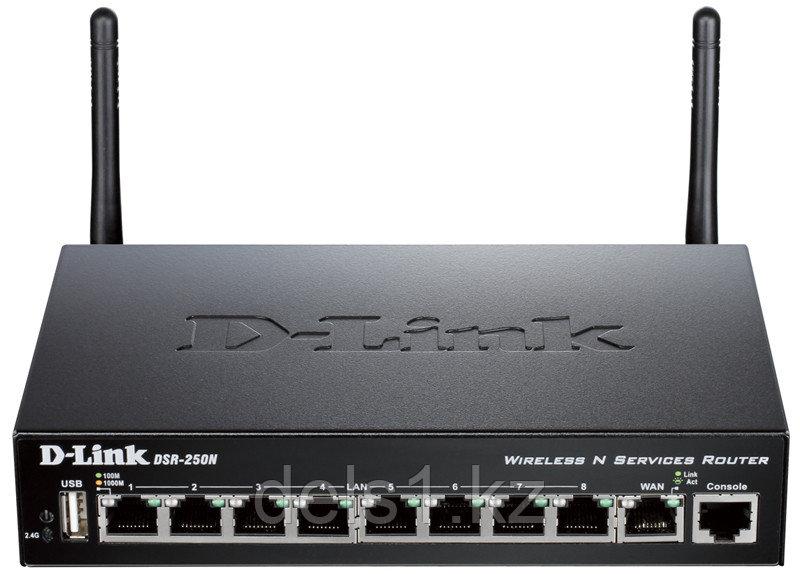 Беспроводной гигабитный сервисный маршрутизатор D-Link DSR-250N/B1A
