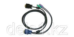 Кабель для KVM-переключателя D-Link DKVM-IP8 длиной 5 м с разъемами VGA и PS/2. D-Link DKVM-IPCB5
