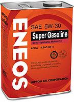 Моторное масло ENEOS Super Gasoline 5W-30 4литра