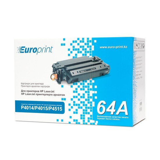 Картридж, Europrint, EPC-364A, Для принтеров HP LaserJet P4014/P4015/P4515, 10000 страниц.