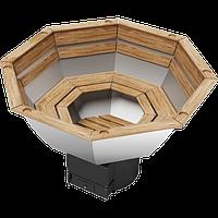 Банный чан с печкой